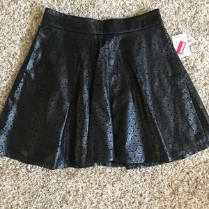 Mimi Chica Faux Leather Mini Skirt